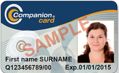 Concession Card Sample